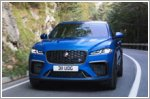 The newly refreshed Jaguar F-PACE SVR, faster and more refined than ever