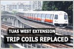 Circuit breaker trip coils along Tuas West Extension replaced