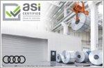 Audi is awarded the Chain of Custody from the Aluminium Stewardship Initiative