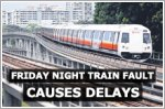 Train fault on North-South Line causes delay on Friday night
