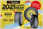 Start 2021 with $2,700 worth of vouchers to be won with Yokohama!