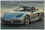 Porsche celebrates the 25 years of the Boxster with a special edition release