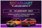Sign up for sgCarMart's Arcade Drive with Skoda and Volkswagen