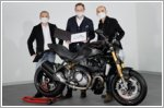 Ducati commemorates 350,000 Monsters produced