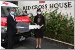 Eurokars Group donates a transporter to the Singapore Red Cross