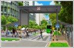 Pedestrianisation of Kampung Admiralty