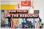 Pump prices return to pre-circuit breaker levels