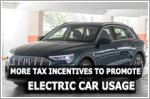 More tax incentives down the road to promote electric car usage