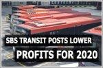 SBS Transit posts lower profits for 2020