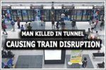 1 killed in MRT tunnel near Lavender, train services on East-West Line disrupted