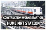 Construction works start on long-empty Hume MRT Station