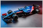 Alpine reveals its Formula One car
