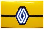 The Renault logo undergoes an evolution