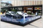 The Lexus Hybrid showcase at PLQ Plaza