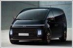 Hyundai reveals additional design details of the Staria