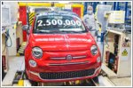 The Fiat 500 factory reaches a production milestone of 2.5 million produced