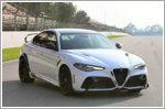 The Alfa Romeo Giulia GTA takes to the track to kick off the Formula One season