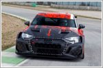 The new Audi RS3 LMS is undergoing intensive development