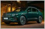 A special Bentley Bentayga Hybrid in green