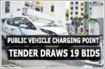 Public electric vehicle charging point tender draws 19 bids