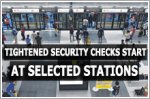 Tightened security checks kick off at selected MRT stations