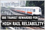 SBS Transit gets monetary reward for high rail reliability