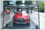 Lexus showcases the LC Convertible at Orchard Road