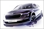 Skoda shows the first glimpse of the new Kodiaq with design sketches