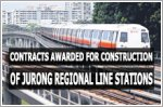 Two contracts to construct four stations for the Jurong Region Line awarded
