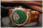 A new limited edition watch from Bentley and Breitling with tourbillon calibre