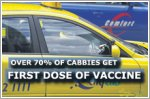 Over 70% of cabbies get first dose of COVID-19 vaccine