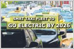 SMRT taxi fleet to go all electric by 2027