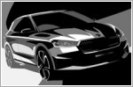 Skoda reveals first sketches of the new Fabia