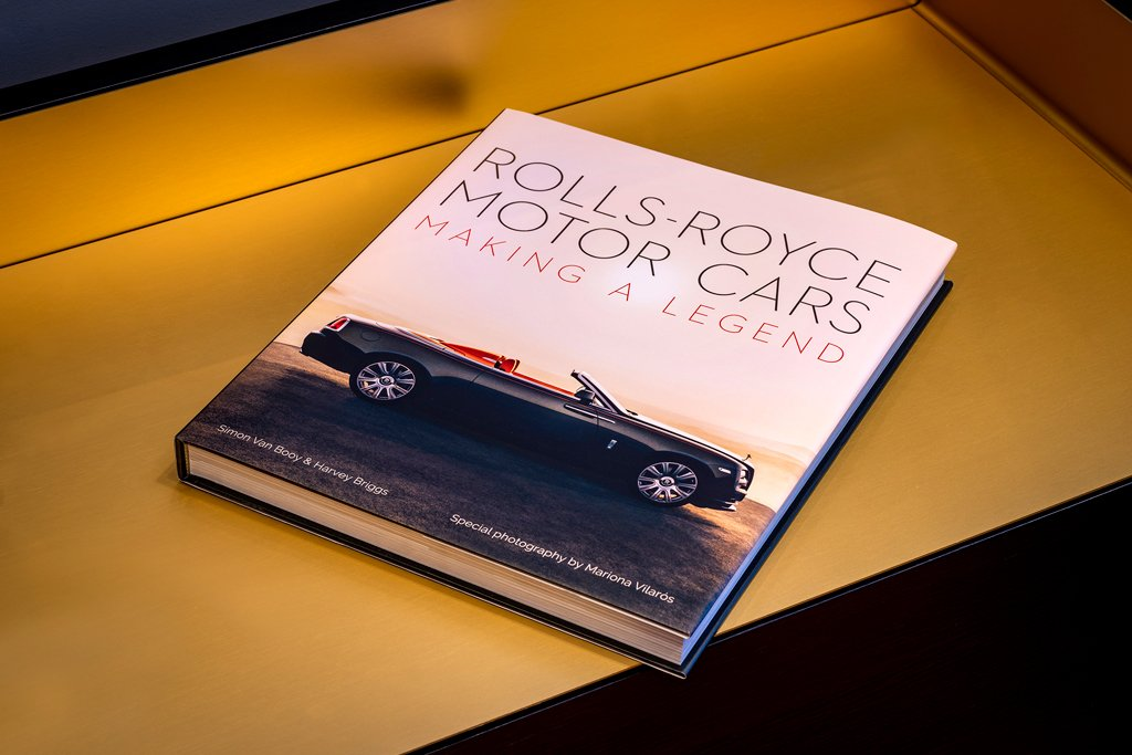 Rolls-Royce marks world book day with 'Making A Legend'