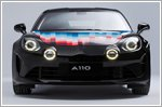 Alpine collaborates with Felipe Pantone in production of limited edition A110