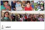 Kia donates football boots to child refugees