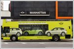 MINI U.S.A showcases 2022 models with AR Experience and 'Looking Glass Bus' in New York City