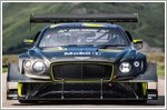 The Bentley Continental GT3 Pikes Peak races to the clouds