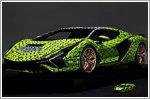 The ultimate toy: Lamborghini partners with Lego to produce full scale Lamborghini Sian replica