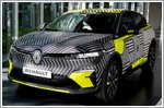 Renault teases pictures of the all new Megane E-Tech Electric