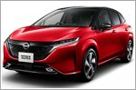 Nissan launches the all new Note Aura in Japan