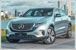 The all new fully electric Mercedes-Benz EQC launched in Singapore