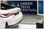 BMW features cutting-edge technology at Greentech Festival 2021