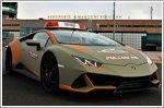 A Lamborghini Huracan EVO will be a follow-me car for Bologna Airport