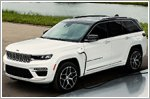 Jeep reveals teaser images of all new electrified 2022 Jeep Grand Cherokee 4xe
