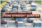 COE supply to shrink across all categories for third consecutive quarter