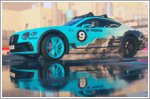 Bentley Continental GT Ice Race Car in Dirt 5