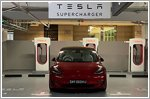 Tesla debuts new V3 Supercharger in Singapore, the first in Southeast Asia