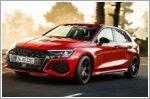 Audi has revealed the 395bhp RS 3 Sportback and Sedan