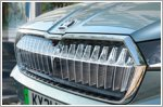 Skoda unveils Crystal Face grille for the Enyaq